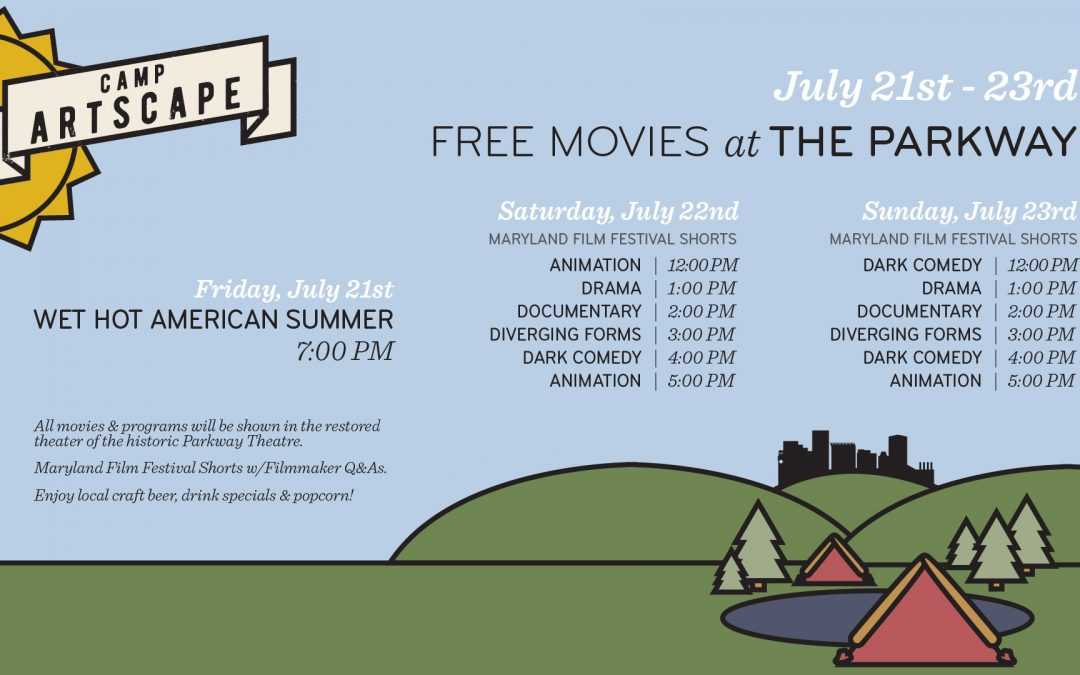 Free Films at the Parkway for Artscape