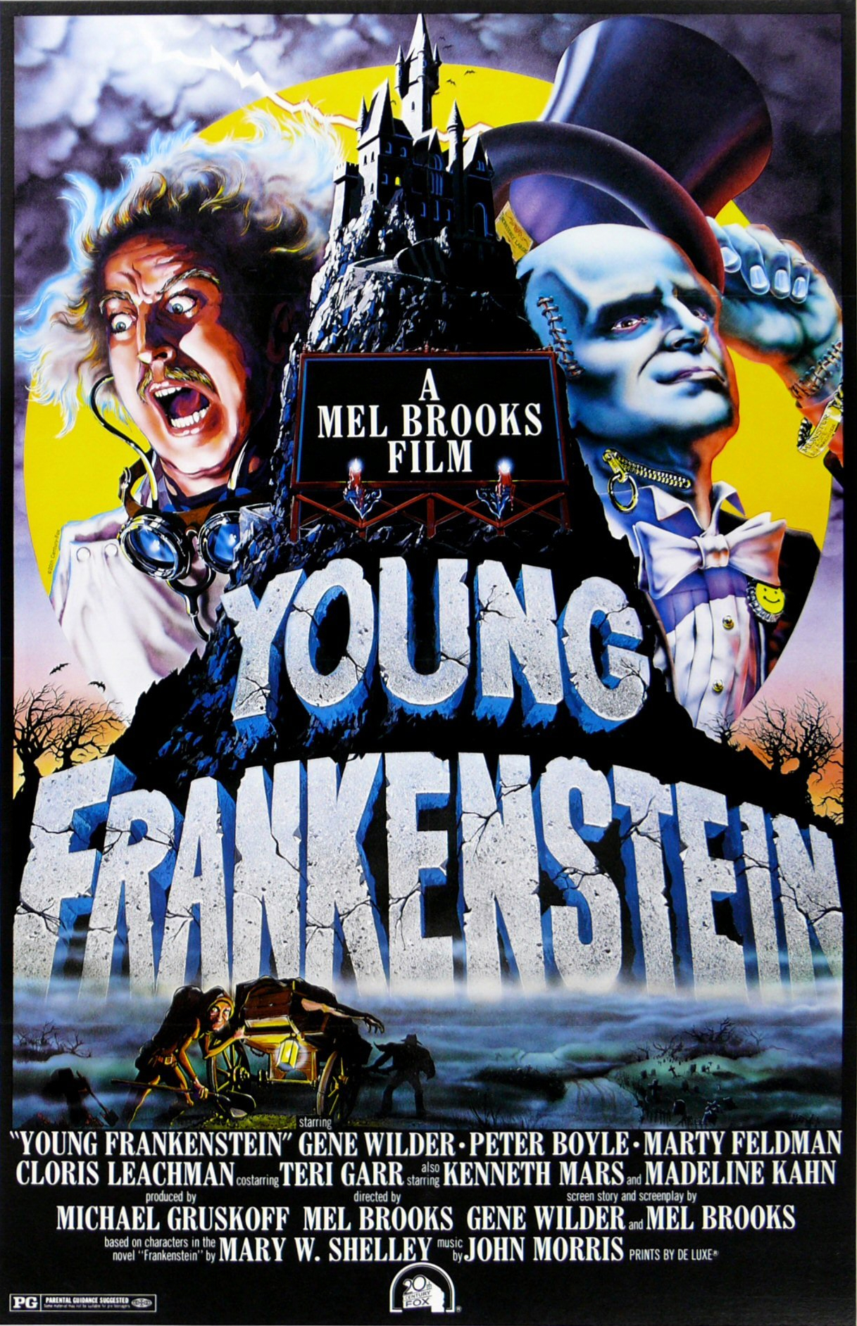 MEDIA AND MONSTERS: TWO CENTURIES OF FRANKENSTEINS: Young Frankenstein